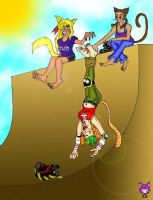 RETROPOST: Halfpipe Tickle by CheshireCaterling