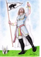 King Arthur by thehoundofulster