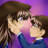 Ran and Conan - Please don't cry by angie50