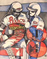 Davey Allison Tribute by deviantmike423