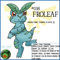 Termina Pokemon-Froleaf by rosa-pegasus