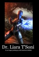 Liara Motivational Poster by Revan117