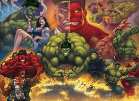 HULK STORY by DAVID-OCAMPO