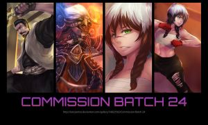 Commission Batch 24 by LarizSantos