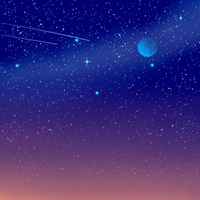 Night sky by MysticalFiregirl