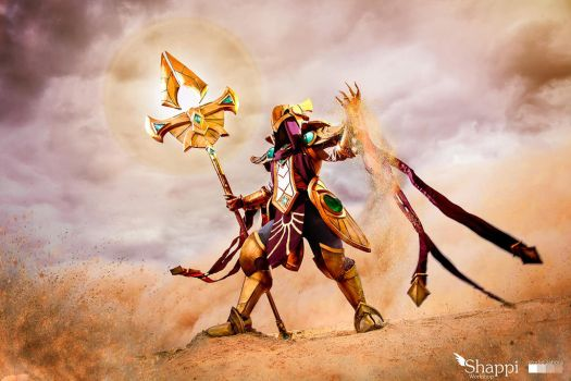 Azir Emperor of the Sands : League of Legends by Shappi