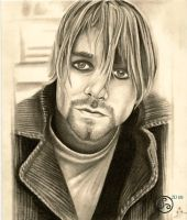 Over-Drawn Kurt Cobain by Klyde-Chroma