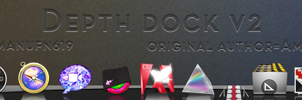 Depth Dock v2 for RocketDock by manufn619