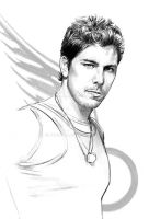 Michael Trucco  -BSG's Sam by jasonpal