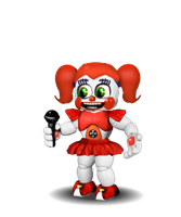 Adventure Circus Baby v4 (Simplified) by BlackFoxPixels