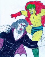 Morbius vs The Creeper by Jose-Ramiro
