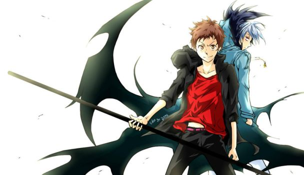 Servamp Pair Sloth by DamuChan91