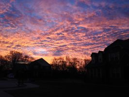Frontyard Sunrise #1 by superSeether