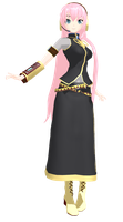 Project Diva Luka - MMD by TokkuChan