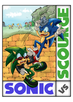 Sonic vs Scourge Contest Entry by ZoomSwish