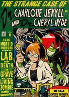 Dr.Charlotte Jekyll and Dr.Cheryl Hyde commission by MichaelJLarson