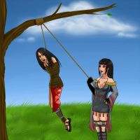 Request for Xenochicks: Rinshi and Kinu by CodeClassified