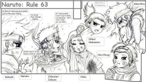 Naruto Rule 63 scribbles1 by PritzPritz