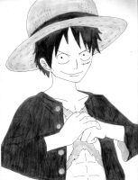 Luffy by oljailson