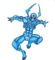 DC Revolt: The Blue Beetle by FrischDVH