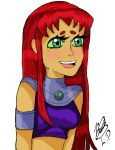 Starfire by LicoricePenguin