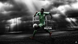 Ahmed Musa Wallpaper by AlbertGFX