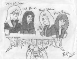 MegadetH Simpsons by RuLyBeRtO