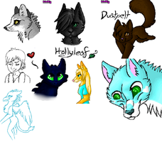 Iscribble Dump by wolfycatlover38