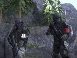 the few,the proud,the odst by arbiter070