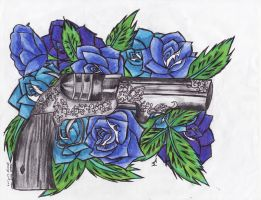 Guns N Roses A Tattoo For Courtney by amirroredshadow