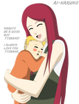Mother and Son by ai-Haruno