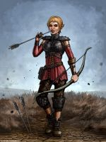Dragon Age - Sera by SirTiefling