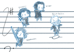 Romantic Period Composers by JustSomeRandomKidLol