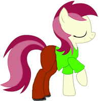 Roseluck Rogers by Juggabrony