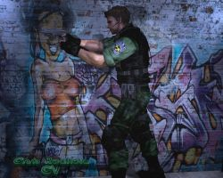 Chris Redfield - CV by SufferTears