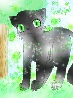 R.I.P Hollyleaf by unknowngemini