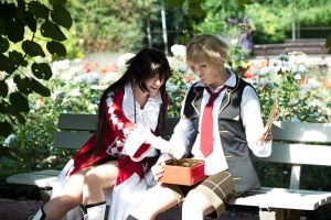 Pandora Hearts - Oz and Alice by Majin-sama