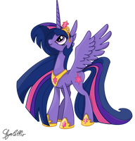 Princess Twilight by jazzlovessilkies