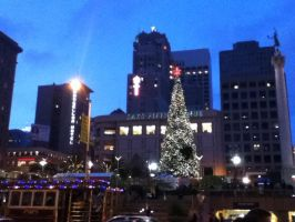 Sanfrancisco Xmas by jesusaurusrex