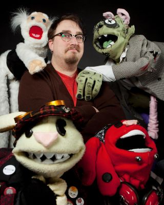 My Puppets and I by Berlin-Poe