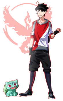 Team Valor for the Winnnn by Hiromu-kun