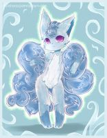 .: Ice Flame :. by Midna01