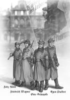 5 Volkssturm soldiers by Victoria-Poloniae