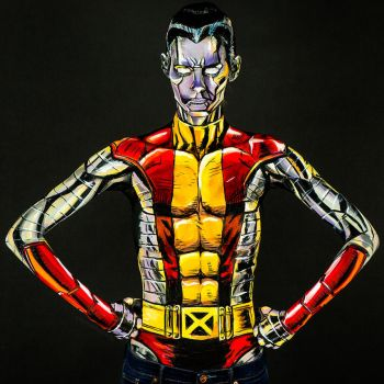 Colossus Bodypaint by KayPikeFashion