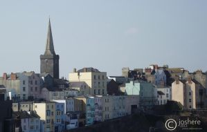 Tenby - Town Centre by JDS-photo