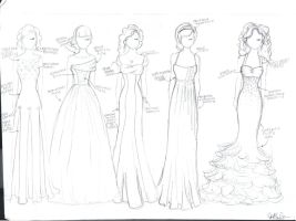 Taylor Collection Gowns by kt-grace