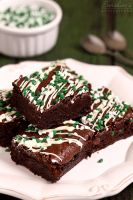Mint brownies by kupenska