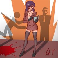 Tf2 Female Spy by gotwin9008