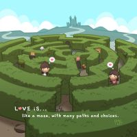 Love is... Like a Maze by hjstory