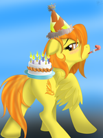 Happy Birthday Spitfire by Cowboy-Appledash